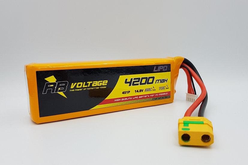 RB Voltage Li Po 4200mAh 4S 35C