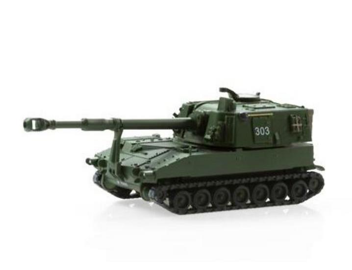 ACE collectors edition Panzerhaubitze M-109 Jg 74 Langrohr en Plastique 1:87