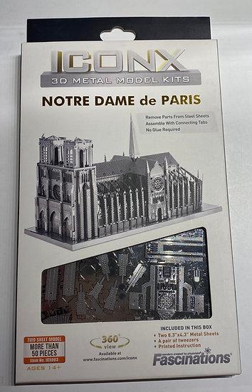 Metal Earth Notre Dame de Paris