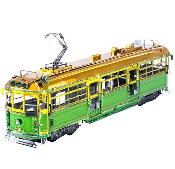 Metal Earth Melbourne W-class Tram