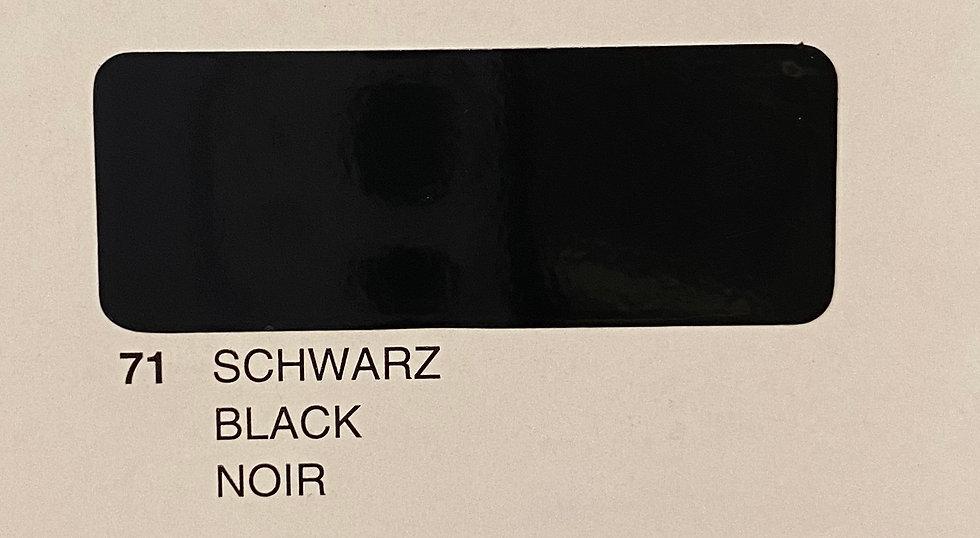 Oracover couleurs standard noir 71