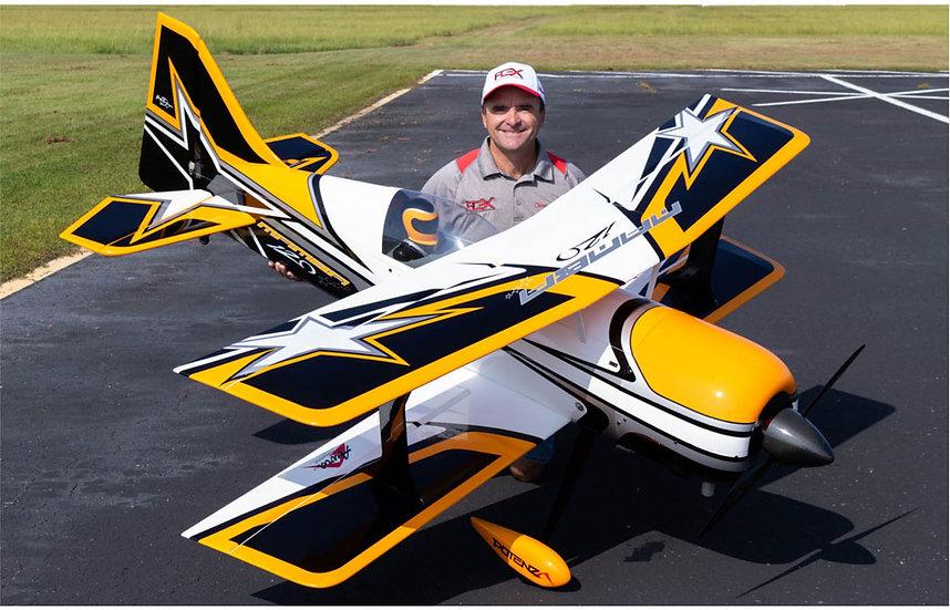 PREMIER AIRCRAFT Mamba 120CC jaune ARF