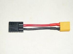 Copie de Adaptateur Traxxas (F) - XT60 (M)