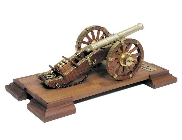 Maquette à construire en bois et métal Canon Napoléon MANTUA 804