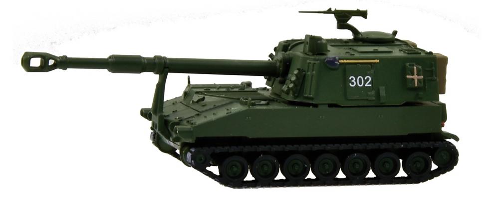 ACE collectors edition Panzerhaubitze M-109 Jg 74 en Plastique 1:87