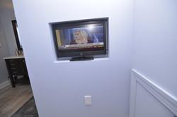 Basement Bathroom TV