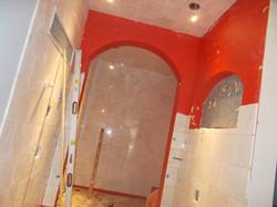 Steam Shower Water Proofing