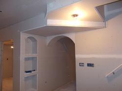 Basement soffits
