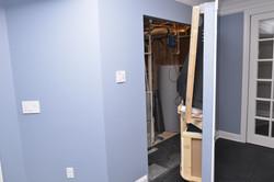 Gym TV Secret Door