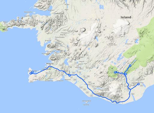 Reisebericht Island - Ab ins Hochland! Teil 1: Vom Flughafen bis nach Landmannalaugar