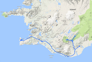 Reisebericht Island Hochland Landmannalaugar