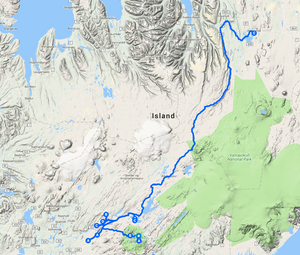Reisebericht Hochland Landmannalauger