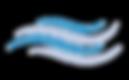 Linhas de vento - azul - transparente.pn