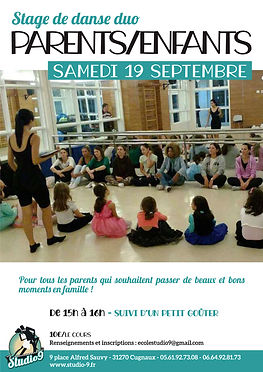 Stage Danse Duo parents-enfants 19092020