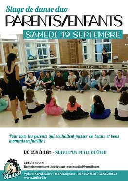 Stage Danse Duo parents-enfants 19092020