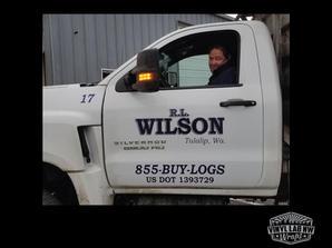 Truck door logo graphics for RL Wilson o