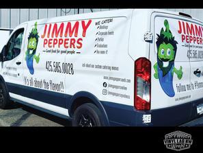Jimmy Peppers of everett van graphics, l