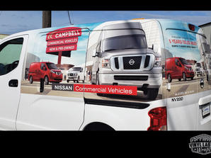 Campbell Auto Group NV200 by Vinyl Lab Wraps of Mukilteo