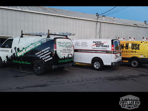 chevy and ford Van graphics for business
