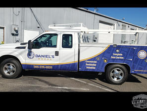 Daniels Doors Utility Truck graphics by