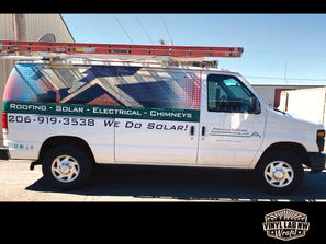 Pinnacle Roofing pros Ford Econoline hal