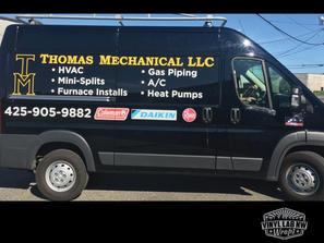Thomas Mechanical Dodge promaster van gr
