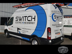 Switch Electric Ford Transit van partial