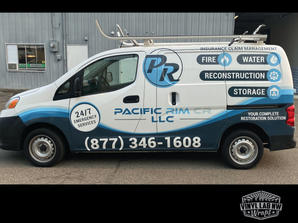 Nissan NV200 van wrap for Pacific Rim LL