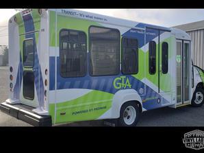 Grant Transit Authority bus vinyl wrap b
