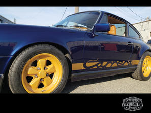 Porsche Carrera decals for your car by V