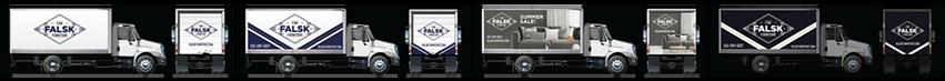 Vinyl Lab Wraps box truck types spot gra
