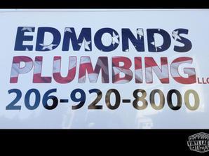 Edmonds Plumbing vinyl graphics for Ford