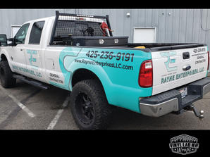 Rayne Enterprises Ford F150 truck graphi