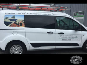 Ford transit connect graphics for Pinnac