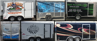 Commercial trailer wraps from Vinyl Lab