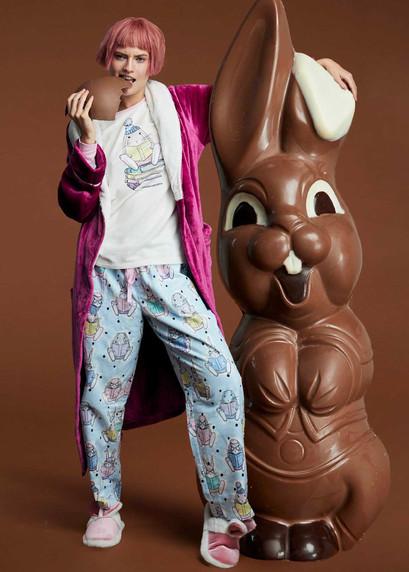 Bunny Illustration and Textile Design for Peter Alexander