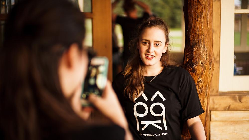 Nicole Logan in PKP T-Shirt