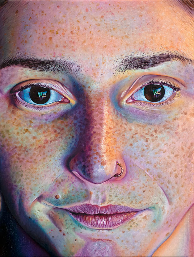 Self Portrait (Un-tweezed)