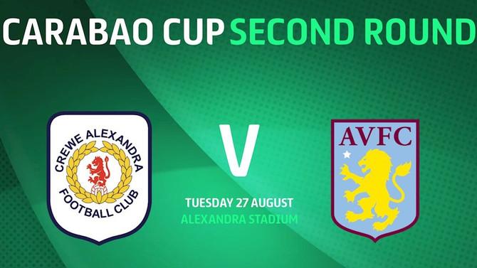 Crewe Alexandra Away (League Cup)