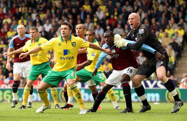 Norwich City v Villa