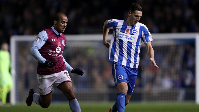 Brighton and Hove Albion Away (league Cup)