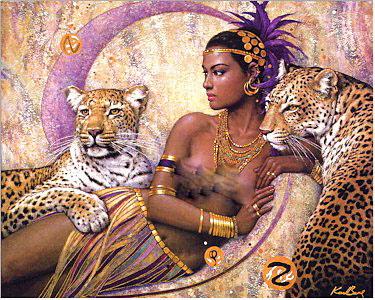 Califia Queen of Diamond & Gold