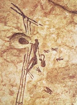 California Blacks - Olmec Honey Hunter Cave Art.jpg