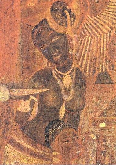 Olmec Cave Art - Royality