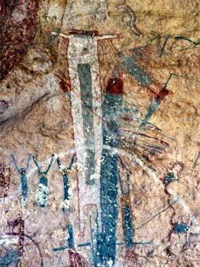 Black Californians Ancient Cave Art