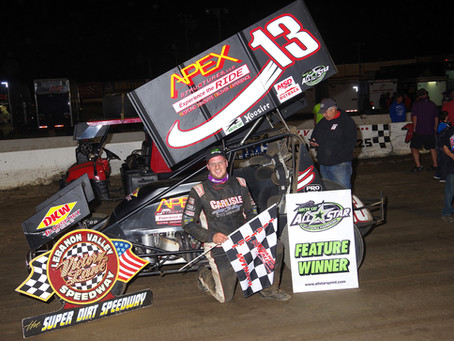 Danny Dietrich Wins All-Star Circuit of Champions Main at Lebanon Valley