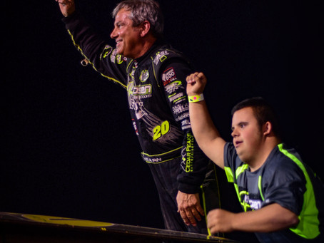 Brett Hearn Blasts Field for 2nd Valley Win of 2017