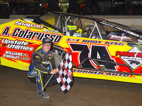 J.R. Heffner Wins 2018 Lebanon Valley King of the Track