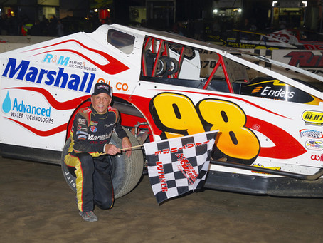 Eddie Marshall Claims 2nd Valley Win in Caution-Free Feature
