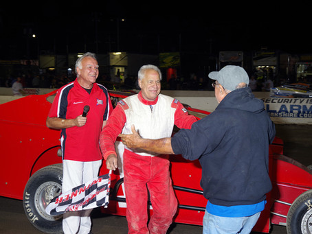 74-Year Old Denny Soltis Makes History at Lebanon Valley
